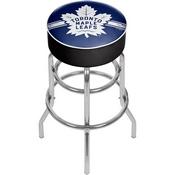 NHL Chrome Bar Stool with Swivel - Toronto Maple Leafs