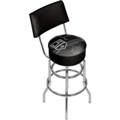 NHL Swivel Bar Stool with Back - Watermark - Los Angeles Kings