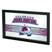 NHL Framed Logo Mirror - Colorado Avalanche