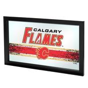 NHL Framed Logo Mirror - Calgary Flames