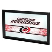 NHL Framed Logo Mirror - Carolina Hurricanes