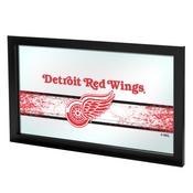 NHL Framed Logo Mirror - Detroit Redwings