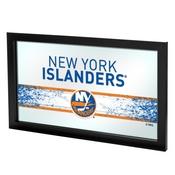 NHL Framed Logo Mirror - New York Islanders