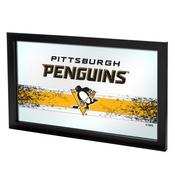 NHL Framed Logo Mirror - Pittsburgh Penguins