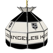 NHL 16 Inch Handmade Stained Glass Lamp - Los Angeles Kings