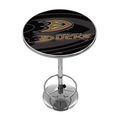 NHL Chrome Pub Table - Watermark - Anaheim Ducks