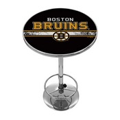 NHL Chrome Pub Table - Boston Bruins