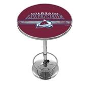 NHL Chrome Pub Table - Colorado Avalanche