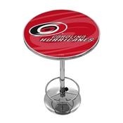 NHL Chrome Pub Table - Watermark - Carolina Hurricanes