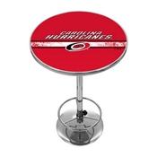 NHL Chrome Pub Table - Carolina Hurricanes