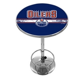 NHL Chrome Pub Table - Edmonton Oilers