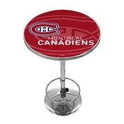 NHL Chrome Pub Table - Watermark - Montreal Canadiens
