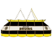 NHL Handmade Stained Glass Lamp - 40 Inch - Boston Bruins