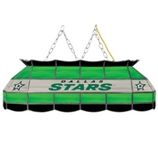 NHL Handmade Stained Glass Lamp - 40 Inch - Dallas Stars