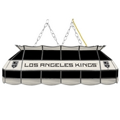 NHL Handmade Stained Glass Lamp - 40 Inch - Los Angeles Kings
