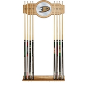 NHL Cue Rack with Mirror - Anaheim Ducks