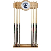 NHL Cue Rack with Mirror - Vancouver Canucks