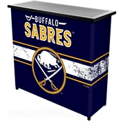 NHL Portable Bar with Case - Buffalo Sabres