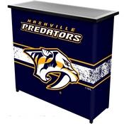 NHL Portable Bar with Case - Nashville Predators