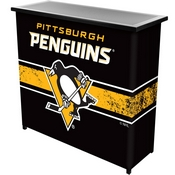 NHL Portable Bar with Case - Pittsburgh Penguins