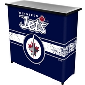 NHL Portable Bar with Case - Winnipeg Jets