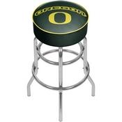 University of Oregon Chrome Bar Stool with Swivel