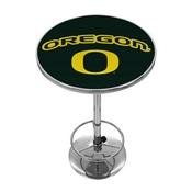University of Oregon Chrome Pub Table