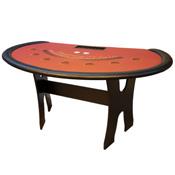 Regular Table Style Blackjack Casino Poker Table